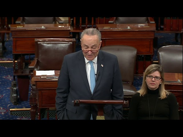 Trump blasts Schumer ahead of address on unity