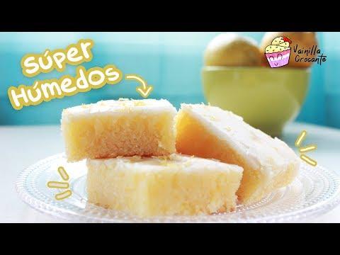 LEMONIES Cuadraditos De Limón ¡Muy Húmedos! │ Vainilla Crocante