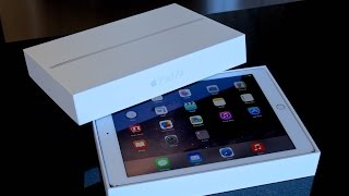 iPad Air 2 Unboxing Cinematic! [64 GB Silver]