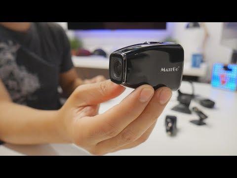 MateGo: 1080p Dash Cam Car Camera with Magnetic Brackets