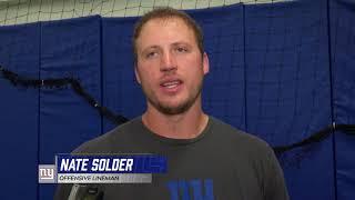 Nate Solder On The O-Line