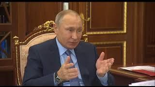 «Как дела, Рустам Нургалиевич?»: о чем поговорили Путин и Минниханов в Кремле