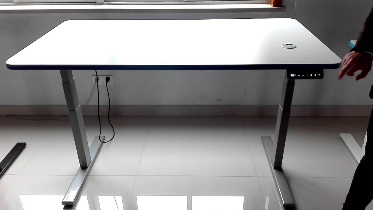 LIFT COLUMN FOR TABLE LEG OFFICE DESK YouTube - Office table lift