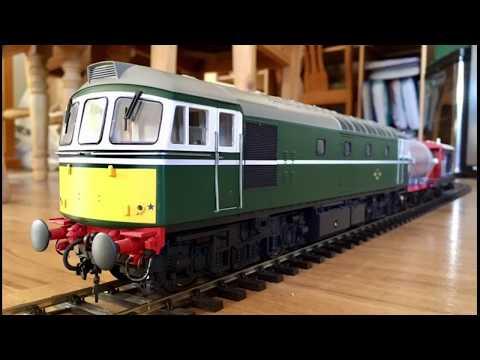 Model Trains 51 - Heljan O gauge 7mm scale class 33