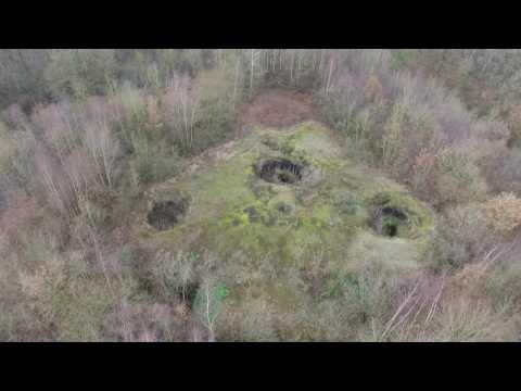 Fort 1900 - Bunker Nazi - DJI Phantom 3