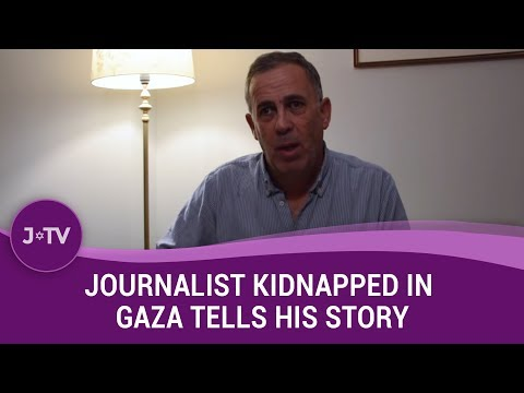 Journalist kidnapped by Hamas tells his story | Movers & Shakers | J-TV