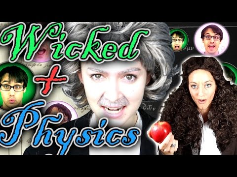 Defining Gravity Wicked Parody feat. Dianna Cowern & Malinda Kathleen Reese  A Capella Science