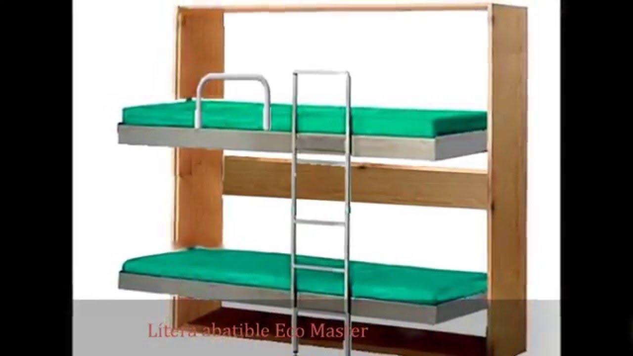 Literas y camas abatibles youtube - Literas de 3 camas ...
