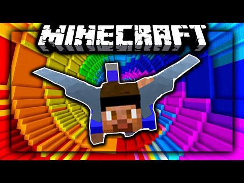 FLYING DROPPER CHALLENGE MAP! - Minecraft 1.9 Dropper!