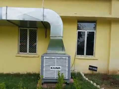 KAAVA Cooled the Entire Asha School Ahmedabad via 4G Super Cooler Typhoon