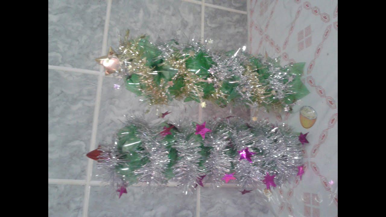 Aparador Sala De Estar ~ Árvore de Natal Feito de Fundos de Garrafa PET YouTube