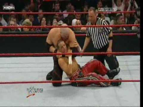 Shawn Michaels vs Kane
