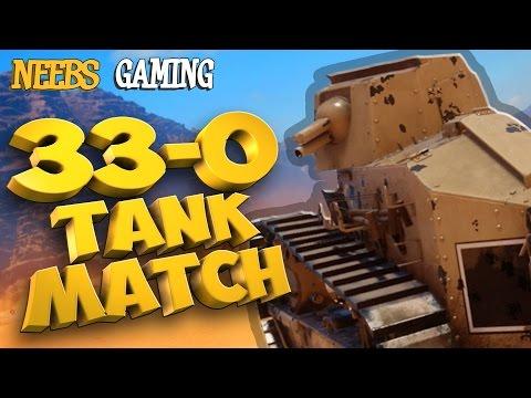 Battlefield 1 *LEGENDARY TANK MATCH*  33-0