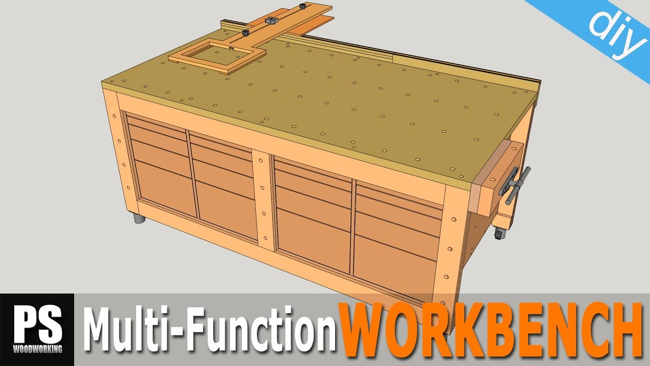 High Capacity Multi-Function Workbench Build / Part 1 ...