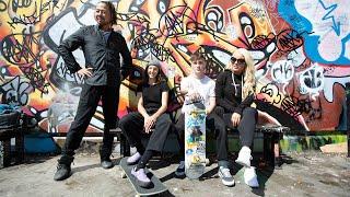 Shinsuke Nakamura & Mandy Rose hit the skate park in London
