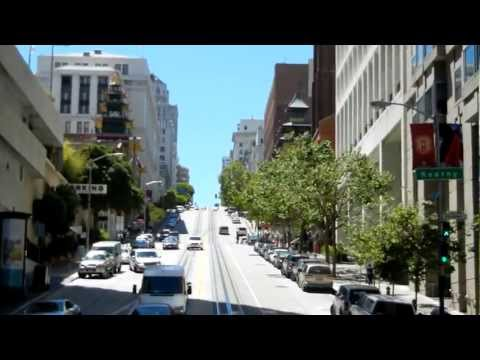 Cable Car Ride in San Francisco - California Street - Market to Grant