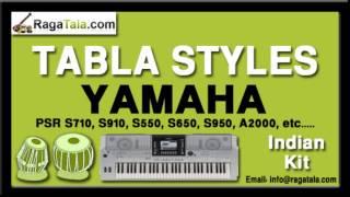 Aaya tere dar per - Yamaha Tabla Styles - Indian Kit - PSR S710 S910 S550 S650 S950 A2000 ect