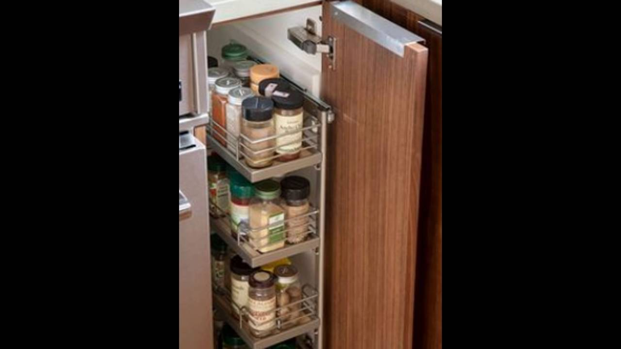 Pull Out Spice Rack Youtube