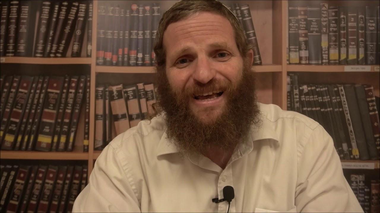 חיים ישראלים שלמים - דבר תורה לפרשת משפטים - הרב דודי ליטמן