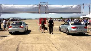 GJADER 2012 RCA [Race Club Albania] BMW M3 E92 vs BMW M3 E92