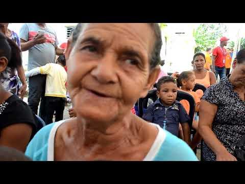 Fundación Doña Rosa y el Invi entregan 16 casa a personas de escasos recursos en Castillo