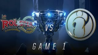 KT vs IG | Quarterfinal Game 1 | World Championship | kt Rolster vs Invictus Gaming (2018)