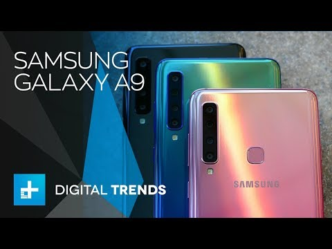 Samsung Galaxy A9 hits with quad camera, but the price misses the mark -  Hands On Review