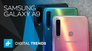 Samsung's new 2018 Galaxy A9 smartphone is a real contender in the ...
