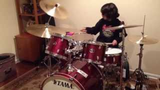 Baixar Raghav 8 Year Old Drummer - Trick with no Sleeve, Sound City, Reel to Real