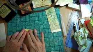 embossing and printing from scratch foam board using knk zing