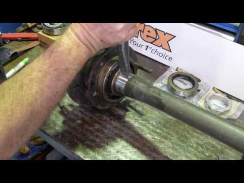 How to Replace the Rear Axle Seal and Bearing on a Ferguson TE20 Tractor