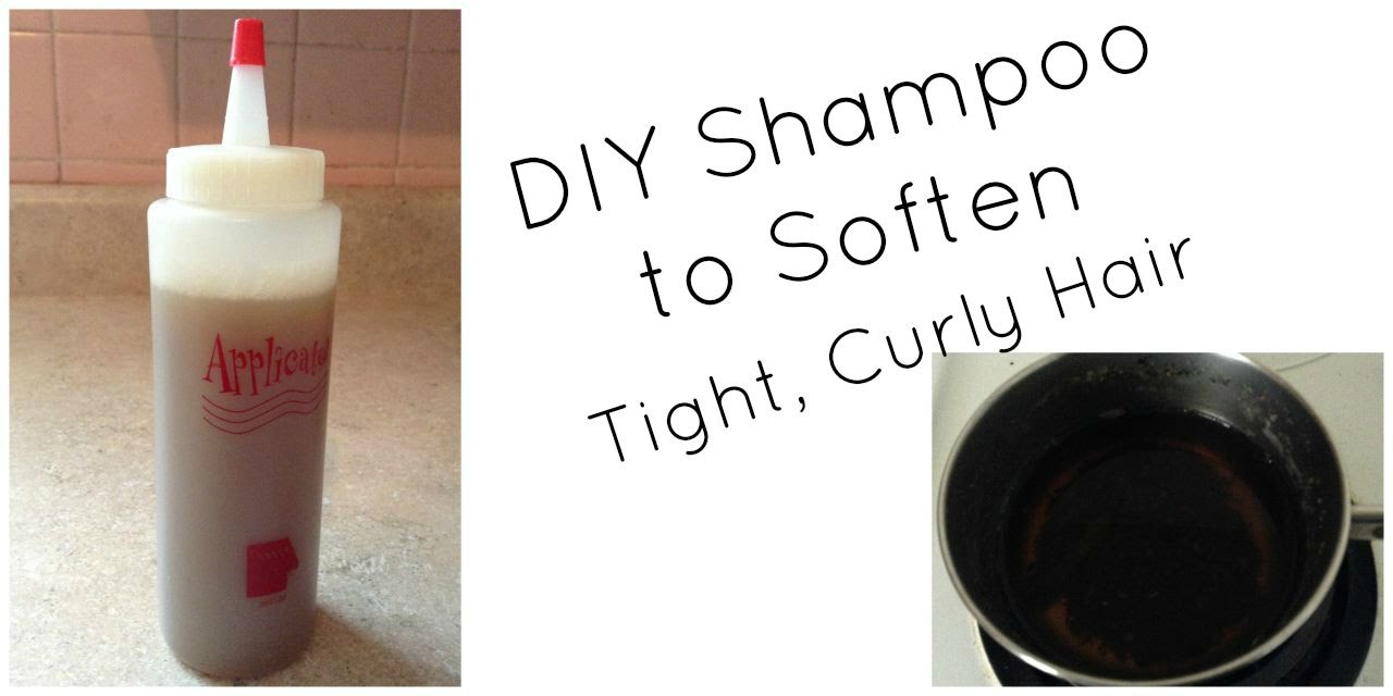 A Simple DIY Shampoo to Soften Tight