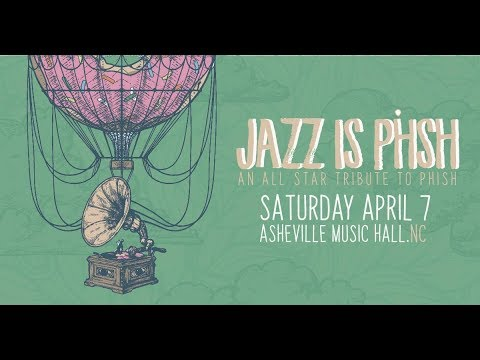 JAZZ is PHSH 2 hr. LIVE Set @ Asheville Music Hall 4-7-2018 Mp3