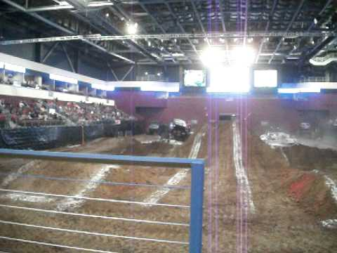 united wireless arena in dodge city, ks bounty hunter freestyle part