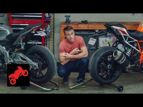 Консольный Маятник Vs Классический @Motorcyclist Magazine