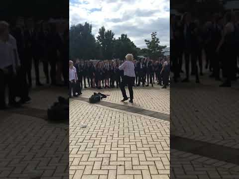 Teacher Vs Student Dance Battle