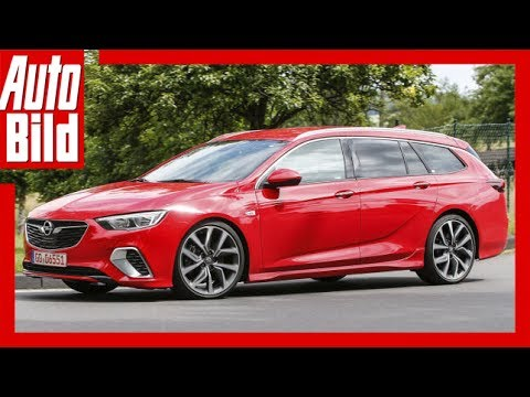 Opel Insignia Gsi Sports Tourer 2017 Detailserklrung Youtube