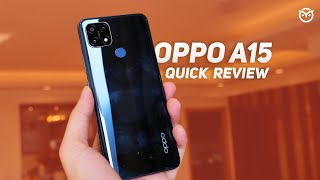 OPPO A15 Unboxing, Quick Review | Camera Samples | PUBG Gaming | Good Option for 10,990? [Hindi]