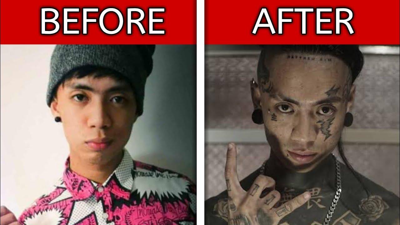 5 Rapper Transformations