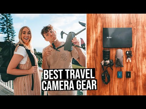 Best Travel Camera Gear | What's in our Backpack