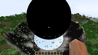 black hole eats my world