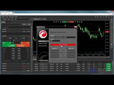 Shufflet Web cTrader Closing Positions & Orders Video Tutorial