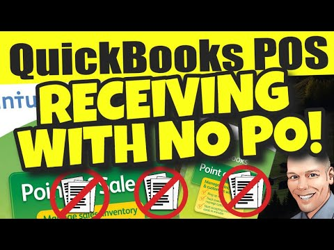QuickBooks POS: Receiving Without Purchase Order