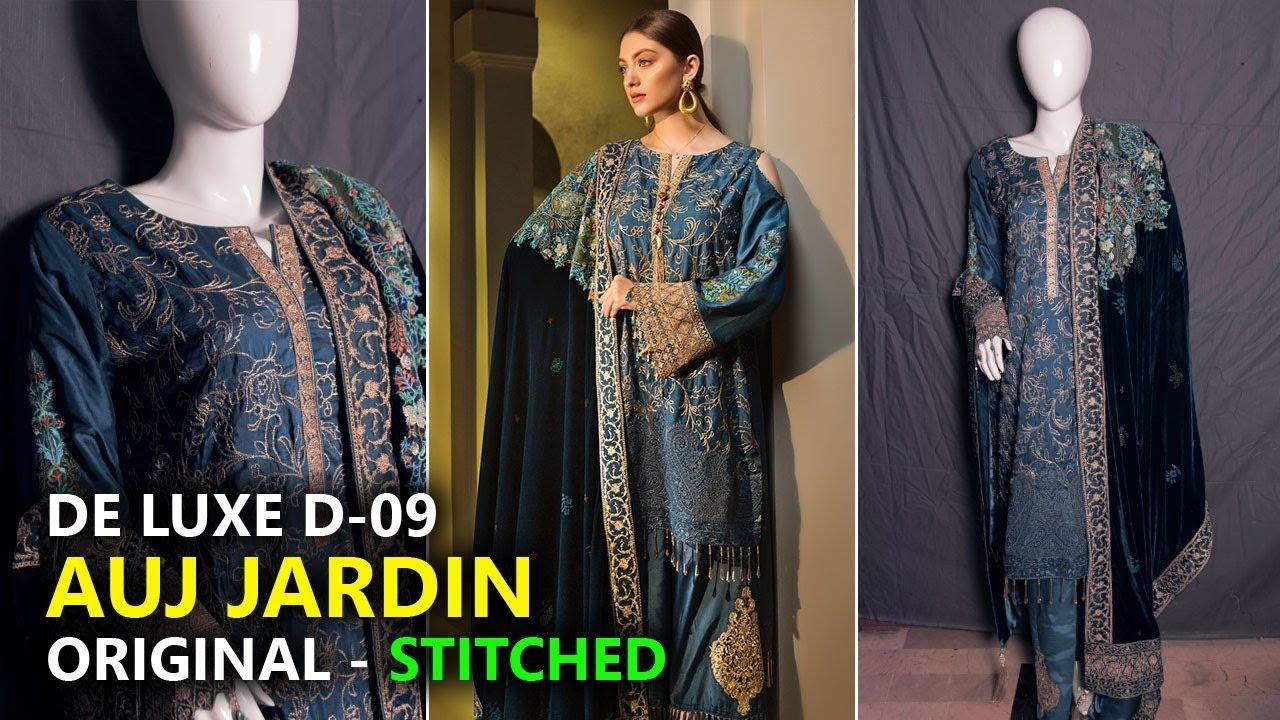 98616651ad Auj Jardin Collection 2019 ⭐ Stitched De Luxe D09 👌 Pakistani Branded Dress.  Sara Clothes