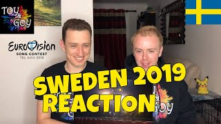 Sweden Eurovision 2019 Reaction - Review - John Lundvik - Too Late for Love