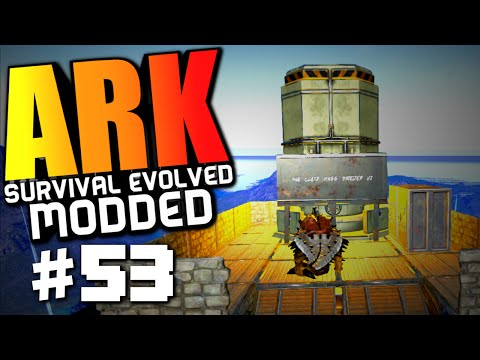 ARK Survival Evolved - QUETZAL SMELTER, TURKEY, INDUSTRIAL FORGE! Modded Survival #53 (ARK Gameplay)