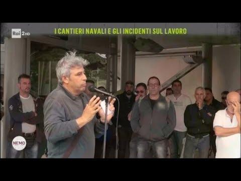I cantieri navali e gli incidenti sul lavoro - Nemo - Nessuno Escluso 25/05/2018
