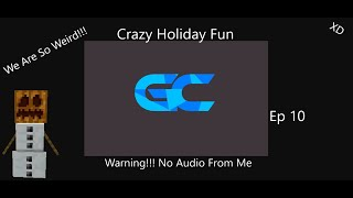 Minecraft Glitchcraft | Crazy Christmas Video | *So Funny* | *Warning*... No Audio From Me...