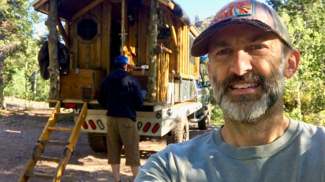Cooking Breakfast in @Truck House Life Custom Cabin/Truck Camper