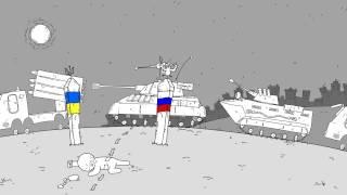 Гумконвой и очкующие русские десантники: мультфильм